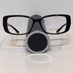 1294d56b7e2 Bulgari Accessories - Like New Bvlgari 4098-B 501 black plastic glasses